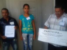Colegio electoral en Siboney Bayamo